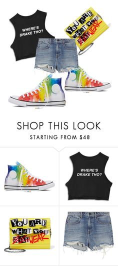 """""""The style is sold to the devil Part 2 ..."""" by silvijo ❤ liked on Polyvore featuring Converse, Jimmy Choo and Alexander Wang"""