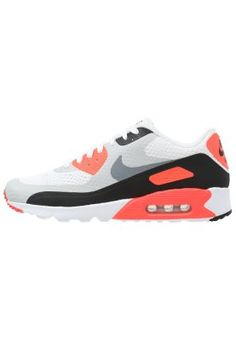 Nike Sportswear AIR MAX 90 ULTRA ESSENTIAL - Sneakers - white/cool grey/infrared/black/neutral grey - Zalando.se