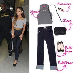 ¡Copia el look de Ariana Grande!