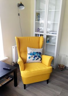 ikea strandmon wing chair 10 year guarantee read about the terms in the guarantee brochure see more yellow in interior
