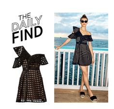 """""""Daily Find: Self-Portrait Dress"""" by polyvore-editorial ❤ liked on Polyvore featuring self-portrait, modern and DailyFind"""