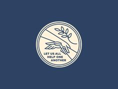 Help One Another by Steve Wolf #Design Popular #Dribbble #shots