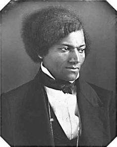 Frederick Douglass in 1848 at age 30.