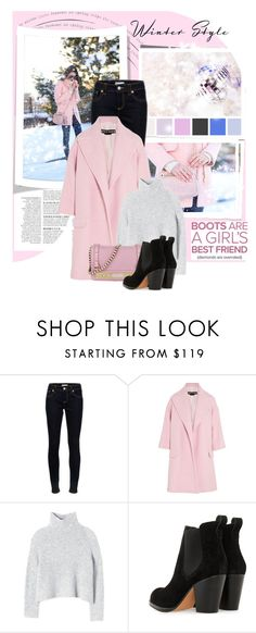 """Pastel n the Winter"" by emcf3548 ❤ liked on Polyvore featuring Anja, RED Valentino, Rochas, Rebecca Taylor and Steve Madden"