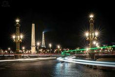 Un soir sur PARIS Place de la Concorde