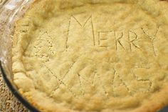Paleo pie crust, no gluten/grains or refined sugar {uses: blanched almond flour, sea salt, baking soda, butter or olive oil, honey, & vanilla} christmas dinners, biscuit recipes, grain free, pie crusts, paleo christma, food, christma menu, paleo pie, christmas menu