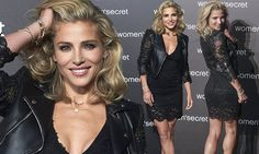 Elsa Pataky showcases her incredible figure in racy lace dress