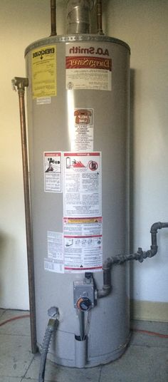ao smith gas hot water heater