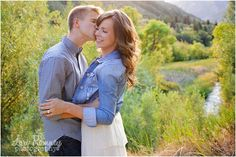 adorable engagement photoshoot | vivian park, utah | what to wear for engagement pictures | www.loriromneyphotography.com