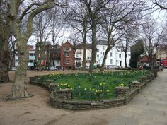 Pond Square, Highgate Village, London