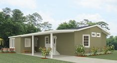 Jacobsen Homes has several small mobile home floor plans to choose from. The one bedroom to three bedroom plans are ideal for a first or second Florida home. Small Mobile Homes, Single Wide Mobile Homes, Modular Home Floor Plans, House Floor Plans, Remodeling Mobile Homes, Home Remodeling, Mobile Home Prices, Two Bedroom Floor Plan, Manufactured Homes Floor Plans