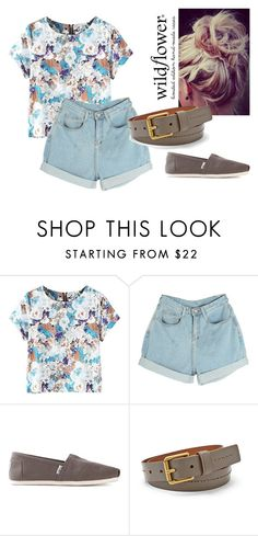 Flower by bloomwood-15 on Polyvore featuring мода, TOMS and FOSSIL