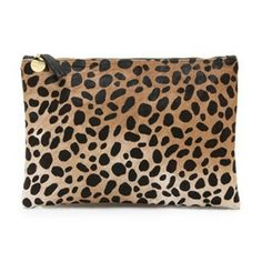 Flat Haircalf Clutch by @Clare Vivier