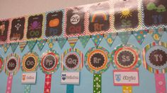 Such a cute interactive word wall! She's made it last 7 years!