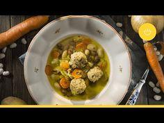 Rýchla fazuľová polievka s guľkami|Komora slovenských gazdín - YouTube Chana Masala, Ethnic Recipes, Youtube, Food, Essen, Meals, Youtubers, Yemek, Youtube Movies