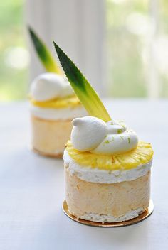 Vacherin tropical | Flickr - Photo Sharing! #plating #presentation