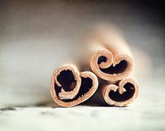 Valentine Gift Cinnamon Hearts Whimsical by LisaRussoFineArt