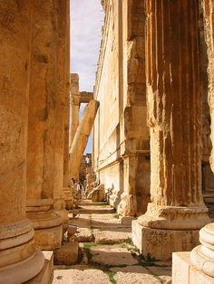 Temple of Bacchus ~ Lebanon