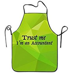 Angles Aprons Trust Me Im An Accountant Waterproof Chef Aprons Accountant Gift