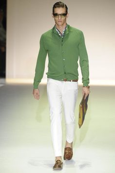 Gucci knows men's spring fashion! Get the look for less by shopping at Goodwill!