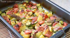 Patate zucchine e peperoni al forno (2)