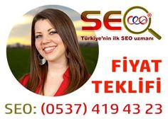 SEO Fiyat Teklifi : SEO fiyatları, uzmanından alınır. Adnan Saykı, SEO Uzmanı