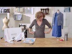 ▶ Lerne von makerist Trainerin Anette Wiese wie du Schnittmuster verändern kannst um Kleidung genau auf deine Maße anzupassen #makerist, #schneidern, #schnittänderung Sewing Hacks, Sewing Tutorials, Sewing Projects, Sewing Patterns, Diy Mode, Love Sewing, Fashion Fabric, Sewing Techniques, Needle And Thread