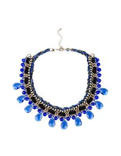SuiteBlanco- Collar cadena strass
