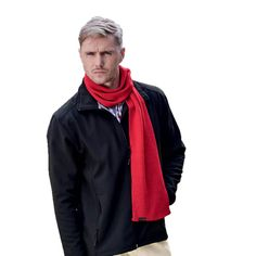 + VAT This simple, single-knit Acrylic Ice Knitted Scarf is a staple item for the cold winter season! Available in three colours. It has overlocking on the edges. Branding, Corporate Gifts, Winter Season, Snug, Raincoat, Bomber Jacket, Ice, Colours, Cold