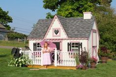Playhouse/Victorian Playhouses Kits | Luxury Play House | Wooden Playhouse | Outdoor Playhouse