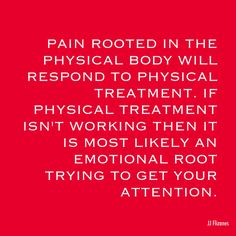 The Root of Pain