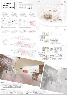 Architecture Portfolio Examples, Architecture Panel, Architecture Visualization, Architecture Design, Project Presentation, Presentation Layout, Architecture Presentation Board, Architectural Presentation, Interior Rendering