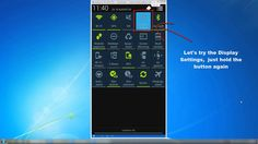 Android Tutorial 2 - Quickly to the appropriate settings (Samsung Galaxy S4 - Video)
