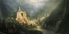 10 Mysterious Lost Lands - Shambhala first appeared in the Hindu text Mahabharata, then later in the Buddhist Kalachakra texts. In both traditions, the hidden kingdom is a beautiful, peaceful valley whose wise inhabitants lived for thousands of years, never growing sick or old.
