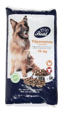 ✔ REAL DOG 15kg Adult Liha - Koiran ruoat - Tokmanni