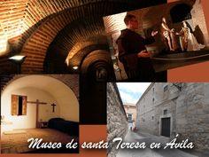 Visita al museo de santa Teresa en Ávila