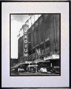 Vintage Chicago Stadium - Historic Chicago Blackhawks | VIew more @ HorschGallery.com