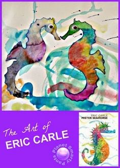 An art project for preschool to explore Eric Carle's books.