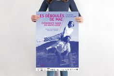 Poster fo a dance event in France