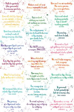 Your place to buy and sell all things handmade Assorted Inspirational Quotes Cards Calling Card Size