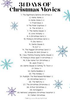 31 Days of Christmas Movies   Beth Owen