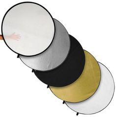 """Amazon.com: Fotodiox 5-in-1 42"""" Premium-Grade Professional Collapsible Disc Reflector: Camera & Photo"""