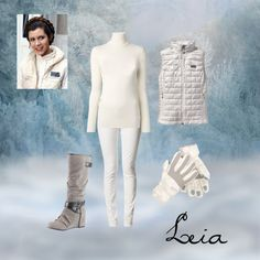 """""""Leia's Hoth Outfit Inspiration"""" by krespaniaqueen on Polyvore"""