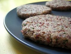 Sunny Quinoa Burgers (vegan, gluten-free,ACD) - Affairs of Living - gluten-free, allergy-friendly, and whole foods recipes, resources, and tips