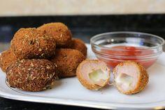Buena cocina mediterranea: Bocaditos de pollo y queso