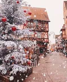 Magical Alsace fairytale This is the best Christmas destination for me so far❤️ Want to stay in this fairytale forever. Colmar is one of the most beautiful town I have ever seen especially in winter timemust see! Christmas Time Is Here, Christmas Mood, Noel Christmas, Merry Little Christmas, Christmas Lights, Vintage Christmas, Xmas, Primitive Christmas, Holiday Time