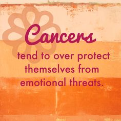 Cancer Zodiac Sign ♋️...Ugh...these posts are way too true...Im leaving this board :-p