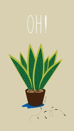 블로그 http://blog.naver.com/awesomebliss 인스타 berryblossoms2  #어썸블리스 #송이송이 #일러스트 #illust #illustration #illustrator #일상 #데일리 #daily #드로잉 #drawing #draw #소통 #디자인 #design #식물 #손그림 #산세베리아