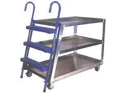 Aluminum Stockpicker Cart - by SJF.com
