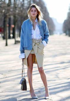 look saia fenda cardigan camisa street style